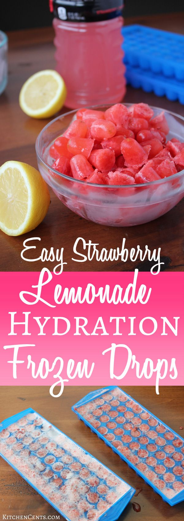 Easy Hydration Popsicles for cold and flu season | KitchenCents.com