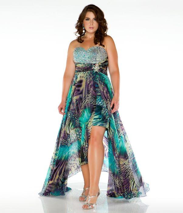 Plus size zebra dress xv