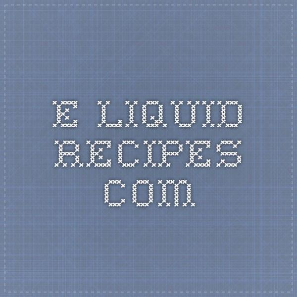 e-liquid-recipes.com