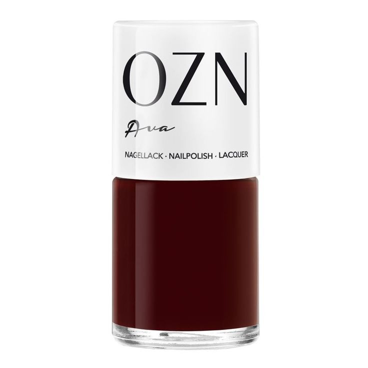 OZN Ava, Nagellack dunkles Rot 12ml, 14,90 € - GreenGlam Naturko