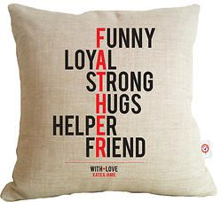 Father - Typographic Cushionhttp://www.colourandspice.net.au/#!product/prd3/1448399061/father---typographic-cushion