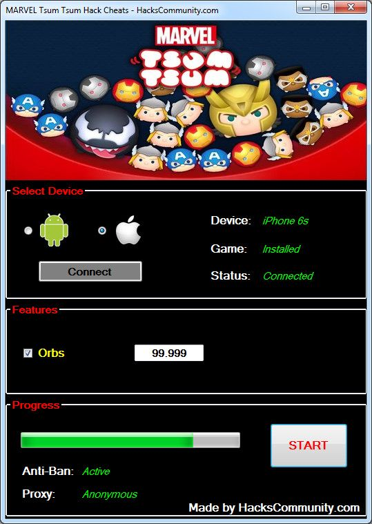 https://flic.kr/p/PHXbfc   MARVEL Tsum Tsum Hack Cheats   MARVEL Tsum Tsum Hack Cheats Tutorial [Unlimited Orbs] Android iOS    No need to look anywhere else, the most advanced MARVEL Tsum Tsum Cheat is available right now for you to download. If you want to become the best player in the world and impress your friends, get the MARVEL Tsum Tsum Hack by HacksCommunity which requires no root or jailbreaking to your device. MARVEL Tsum Tsum Hack Cheats is very easy to use due to the…