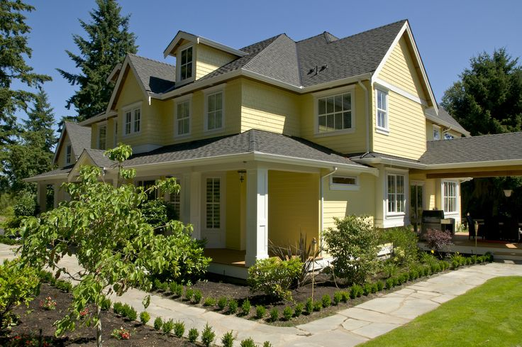 78 best images about benjamin moore exterior colors curb for Exterior yellow paint