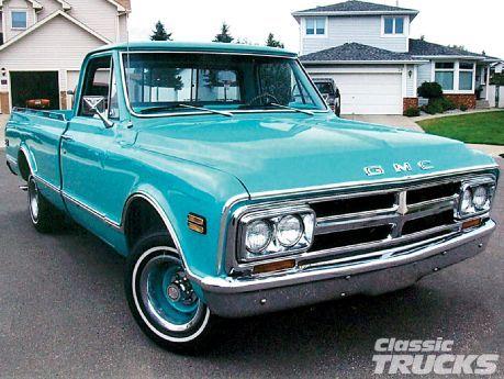 #Classic #GMC truck!