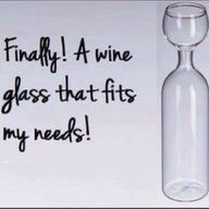 Finally! A wine glass that fits my needs!: Idea, Glasses, Wine Glass, Funny Stuff, Funnies, Things, Wineglass