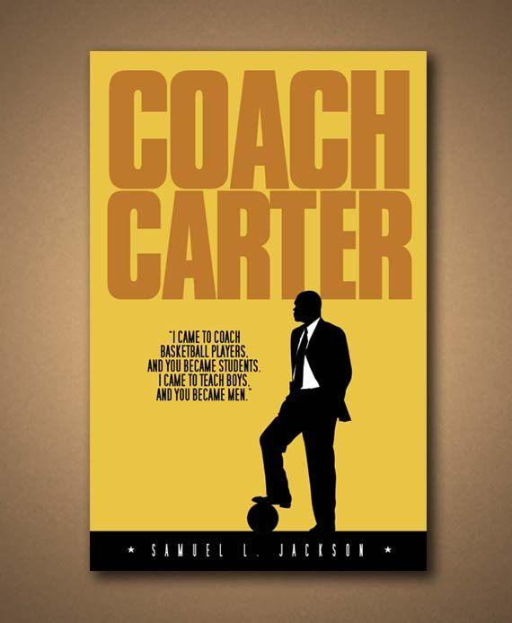 Coach Carter Movie Quote Poster 18 X12 Coach Carter Movie Quotes Coach Carter Quotes