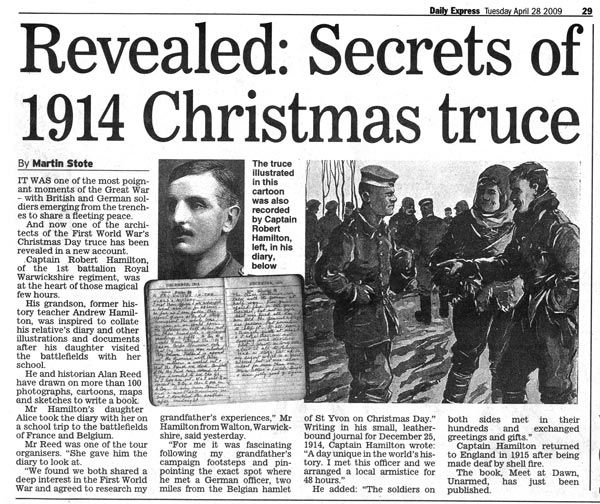 The 1914 Christmas Truce – Remembering a Miracle
