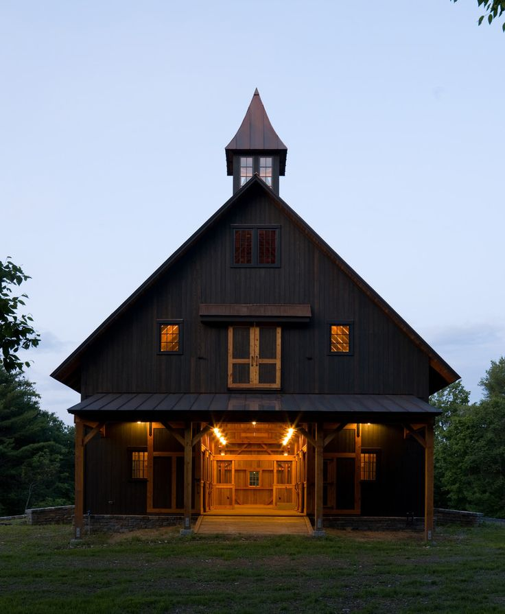 17 best images about wooded lake cottage exterior on for Horse barn design