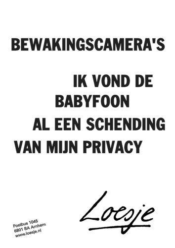 privacy loesje - Google zoeken