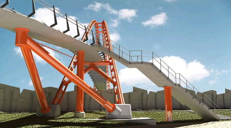 Hendon Park Footbridge is one of the most iconic footbridges in NZ completed in 2016. This is the original Waterview Alliance footbridge concept.