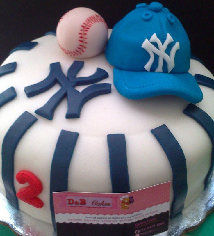 pastel de cumpleaños  Realiza una fiesta Home Run 74efee23912afd91b40fb7a983fb575c