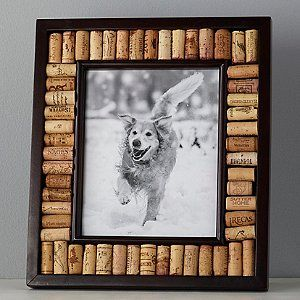 Wine Cork Picture Frame Kit (8x10 photo) (Espresso Finish) - Wine Enthusiast