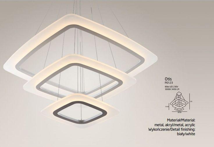 Lampa wisząca LED Maxlight