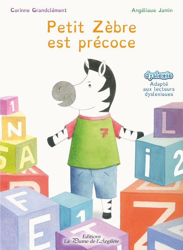 """""""#PetitZebre est #precoce"""" s'adresse aux enfants de maternelle & début de primaire. Il a pour objectif de leur expliquer sur 26 pages & avec simplicité, ce qu'est un enfant à #HautPotentielIntellectuel & l'objectif est pleinement atteint ;)"""