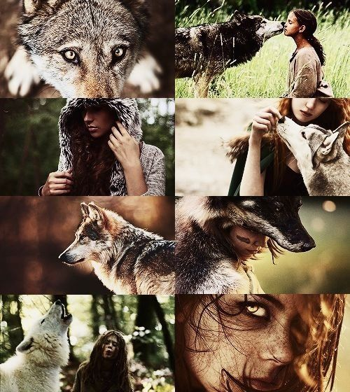 The imagination is a beautiful place....I believe in werewolves