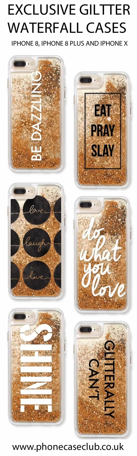 IPHONE CASE, IPHONE X , IPHONE X COVER, IPHONE 8, IPHONE 8 PLUS , PHONE CASE, IPHONE 7 CASE, IPHONE 7 PLUS CASE , GLITTER WATERFALL CASE , LIQUID CASE