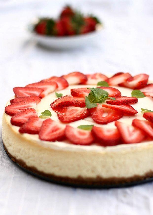 Perfect Strawberry Cheesecake Recipe fr christmas-,.,k?>,