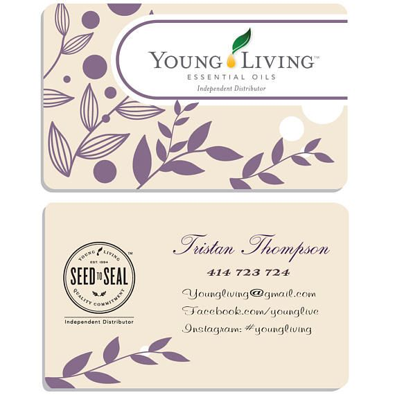 Young Living Business Card Template: 17 Best Ideas About Elegant Business Cards On Pinterest