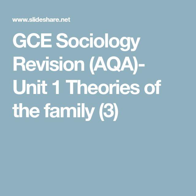 Die besten 25 aqa ideen auf pinterest urgeschichte gce sociology revision aqa unit 1 theories of the family 3 urtaz Images