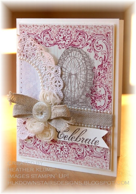 258 best cards celebrate images on pinterest birthdays for Stampin pretty craft room