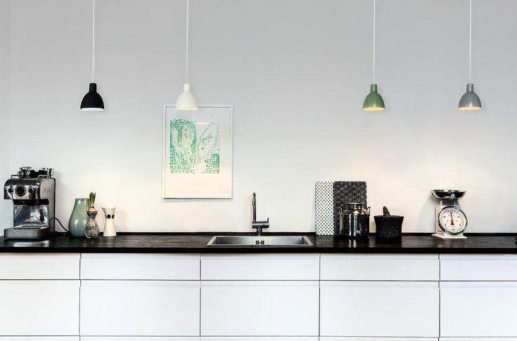 Louis Poulsen Toldbod 120 Duo Pendelleuchte von Louis Poulsen Lighting A/S - Designermöbel von smow.de