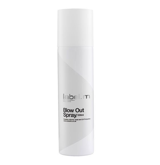 label.m BLOW OUT SPRAY- I have really thin hair but this actually works AND it protects against heat