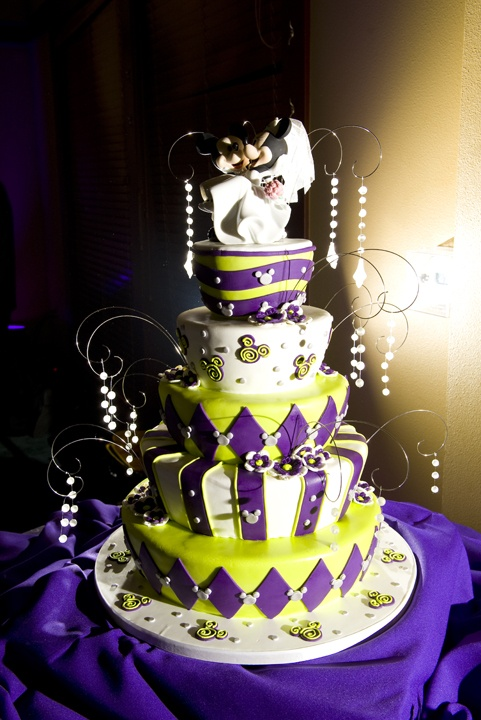 Mickey Mouse Themed Wedding Cake Amazing Wedding