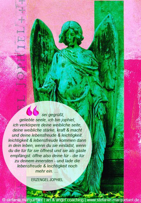 Engelbotschaft Mai   Erzengel Jophiel unterstützt dich die Lebensfreude & Leichtigkeit als »Dauergäste« zu dir einzuladen und sie zu deinen ständigen Begleitern zu machen! Geniesse also den Frühling in den vollsten Zügen <3 http://www.stefanie-marquetant.de/2015/05/01/engelbotschaft-mai-2015/