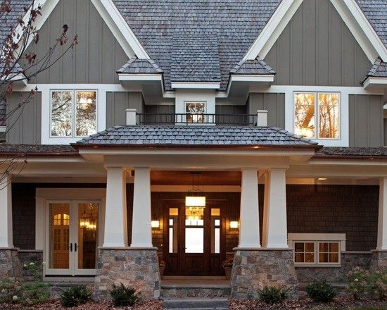Traditional Exterior Craftsman Paint Colors Design, Pictures, Remodel, Decor and Ideas - page 6