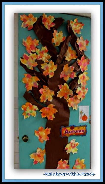 200 back to school bulletin boards and decorated doors for Autumn classroom decoration