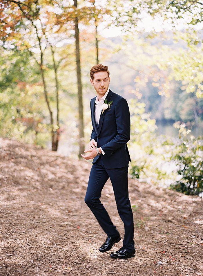 Blake Ballard for ONCE WED Photography: Eric Kelley Suit: Modern Gentlemen