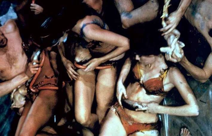 Carolee Schneemann , Meat Joy, 1964, DVD, 6 min, color, sound, 16 mm.