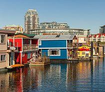 Fisherman's Wharf, Victoria, BC, Canada is walking distance. #vacation #walk #getaway #boating