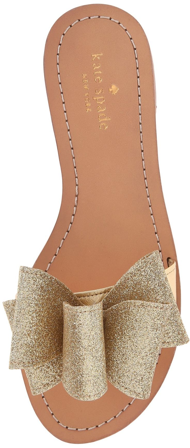 Kate Spade Glitter Bow Sandals