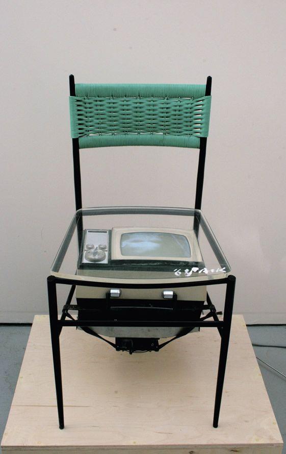 Nam June Paik, TV Chair