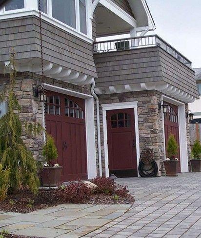 19 best House Exterior Paint Ideas images on Pinterest ... on Garage Door Color Ideas  id=45779