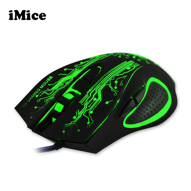 2017 Baru Profesional 6D Gaming Mouse LED Optical USB Wired Komputer kabel Mice untuk Laptop PC Desktop Untuk Pro Gamer CSGO LOL
