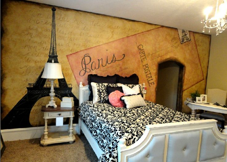 Paris Themed Room | This Paris themed room was so much fun! It is featured in the 2011 ...
