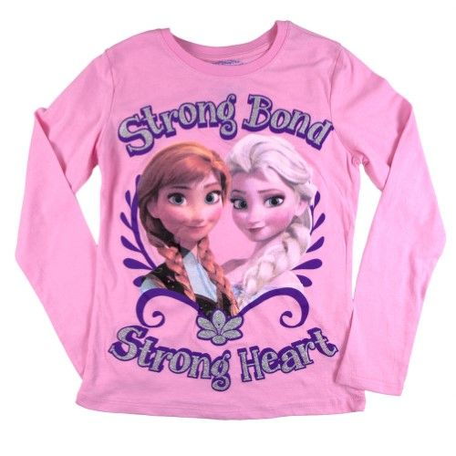 Strong Bond Strong Heart Girls Youth Long Sleeve