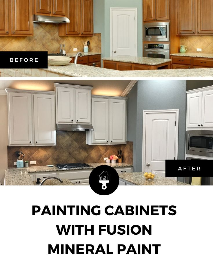 Painting Cabinets With Fusion Mineral Paint Beautifully Reimagined Painting Cabinets Fusion Mineral Paint Painting Kitchen Cabinets
