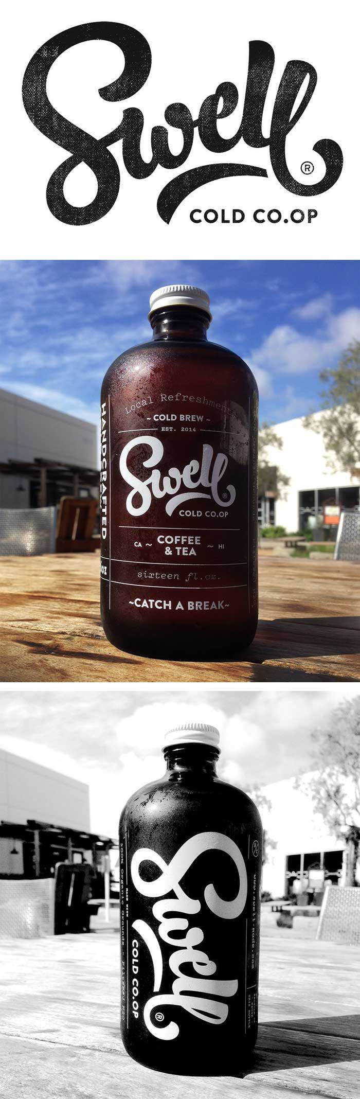 Coffee & Currency / on Design Work Life This is swell #packaging PD