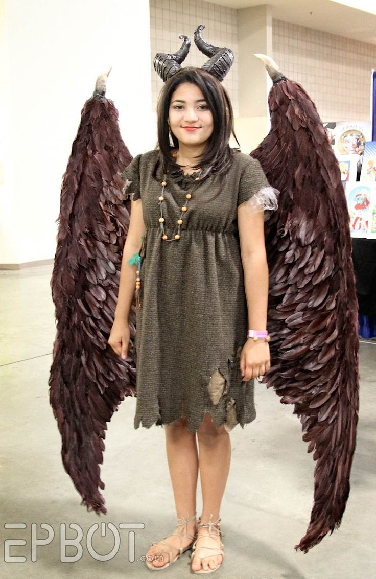 amazing reproduction of young maleficents fairy costume from the epbot shock pop comic con 2015 - Halloween Costume Ideas 2017 Kids