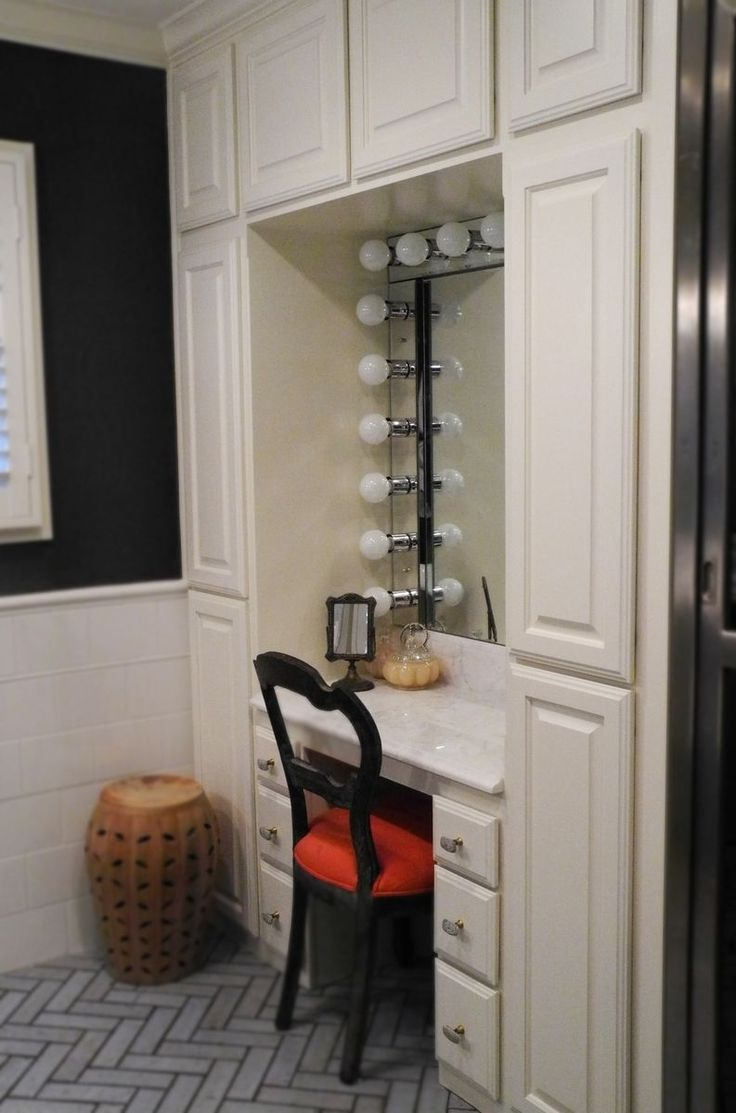 25 great ideas about small makeup vanities on pinterest for Bathroom designs with dressing area