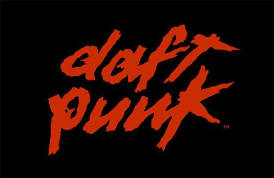 """Daft Punk's band logo uses some punky influence for their design. Evoking an extremely 'punky' look, the electronic duo produced one of the most well-known logos within the dance music scene. Designed by band member Guillaume Emmanuel """"Guy-Manuel"""" de Homem-Christo, the logo ties in with the stand-out ethos of the pair. Using bold colours and textures, Daft Punk's visuals are just as important as their tunes."""