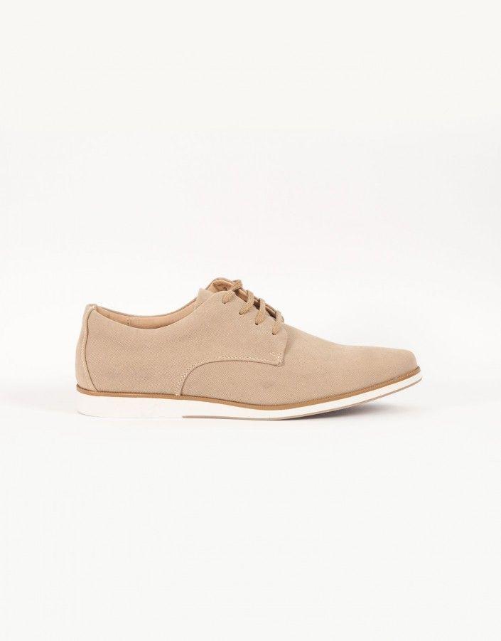 BeigeCalzado Zapato Suela Zapatos Casual Blanca Ss18 Jvz AR5L4j