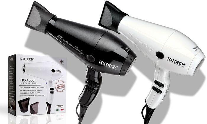 Izutech Italian 2000W Quietest Salon Dryer:  Izutech Italian 2000W Quietest Salon Dryer