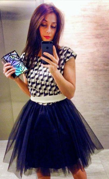 Alternatywna sukienka tiulowa w NAT Fashion Room na DaWanda.com