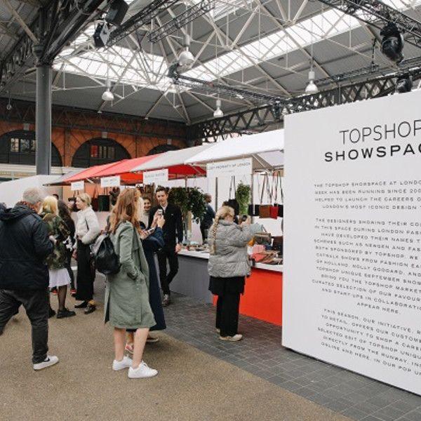 Topshop Stages Pop Up Market For London Fashion Week Retail Design World