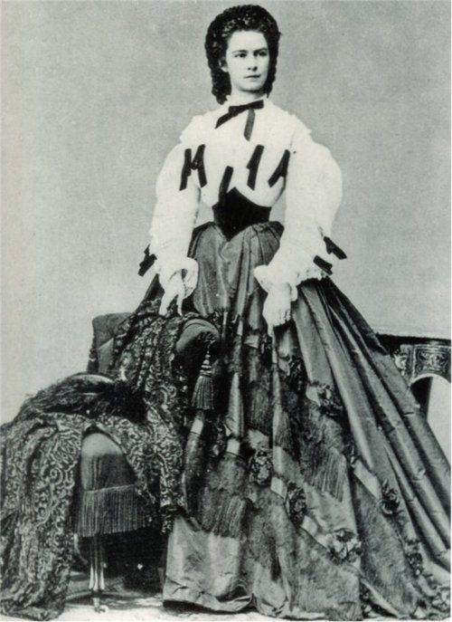 "Empress Elisabeth (""Sisi"") of Austria & Queen of Hungary, 1864"