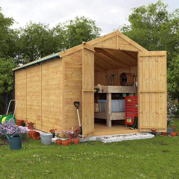 garden sheds 9x8